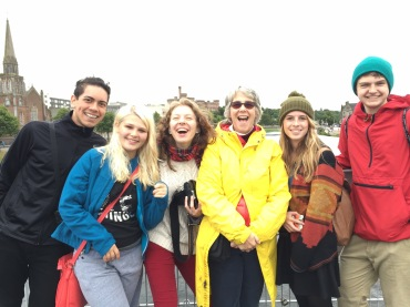 CT Students at the Salmon Festival