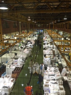 Billingsgate Fish Market, London