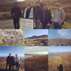 Hiking Ben More