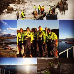 Out on the farms!