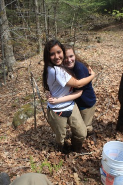 Good day for salmon stocking!